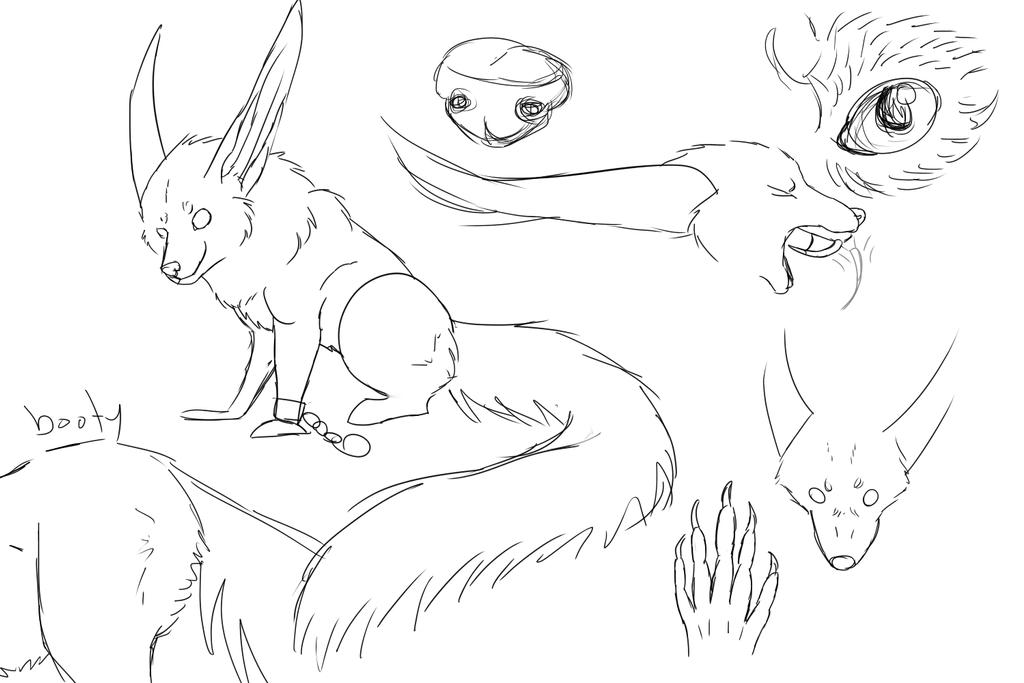 Alby sketches by albatrossandwarrior1
