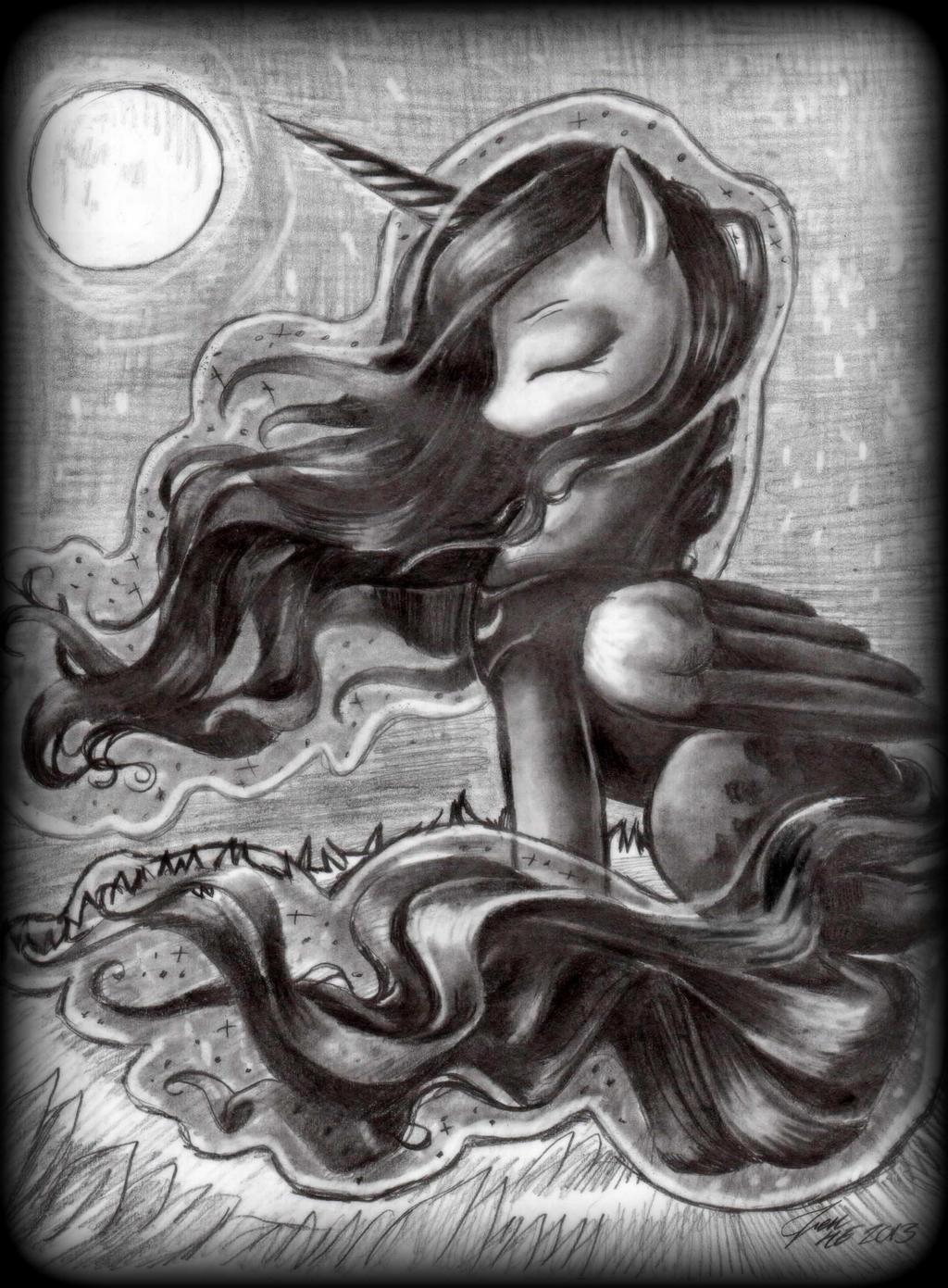 Luna by TheCraftyWhiteFox