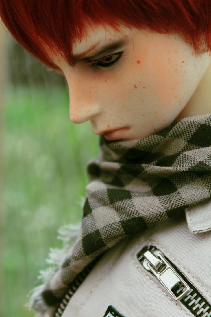 Ginger Eyelashes by Gaeldgleet