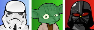 My Star Wars avatars by Lord-Yoda
