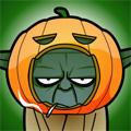 Halloween Yoda by Lord-Yoda