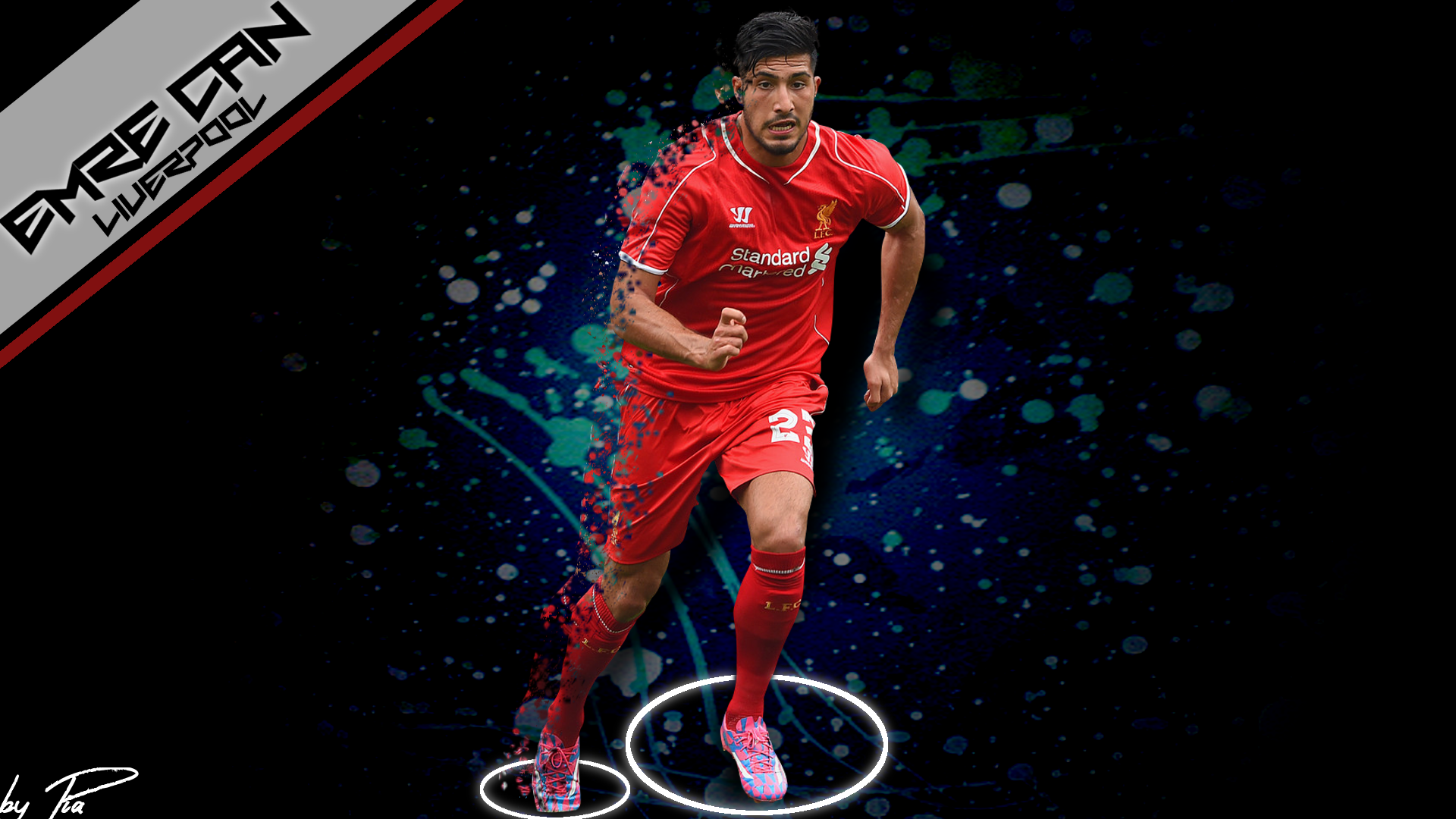 Emre Can Wallpaper By PiaDesigns On DeviantArt