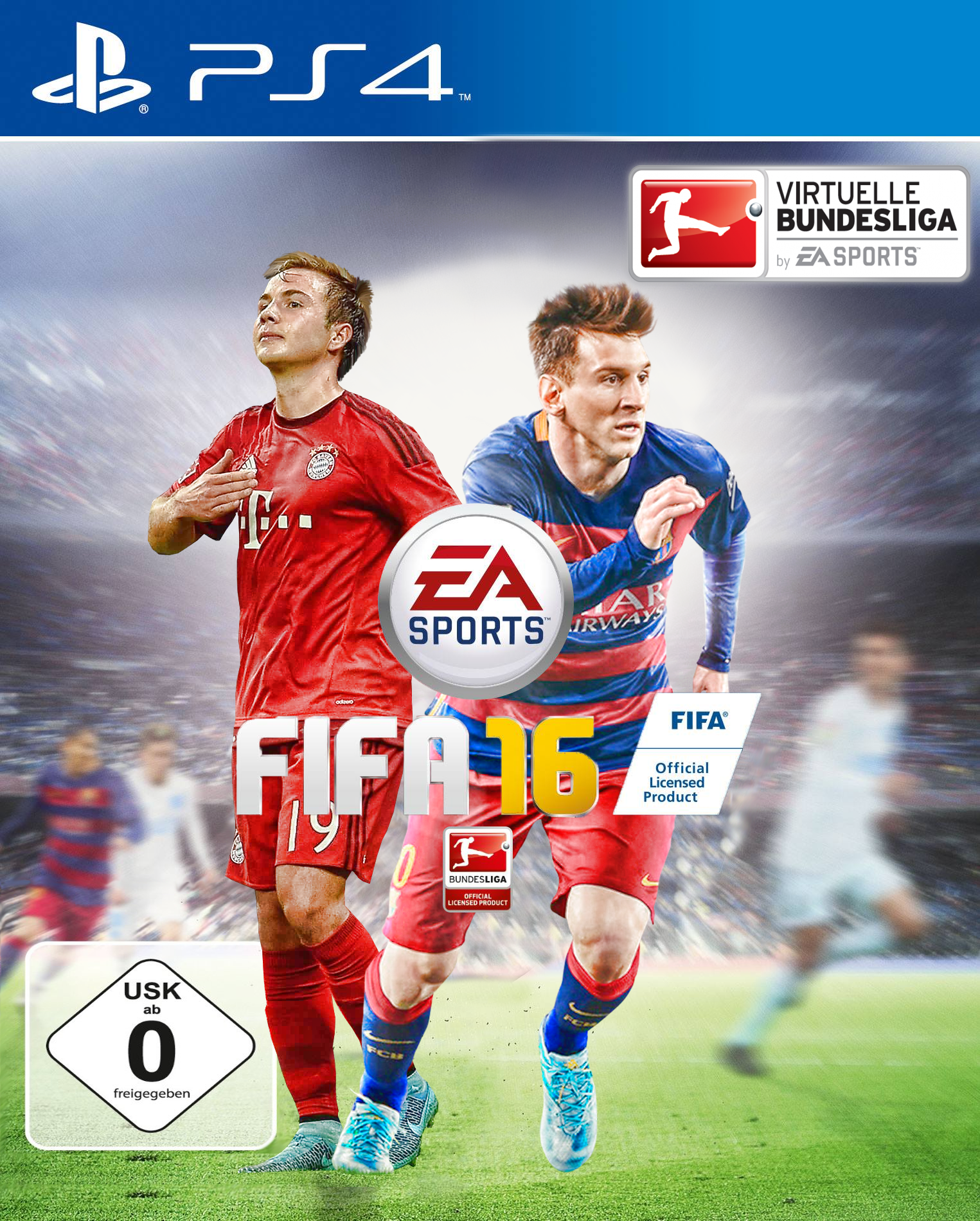 fifa 16 ps4 cover germany by piadesigns on deviantart. Black Bedroom Furniture Sets. Home Design Ideas