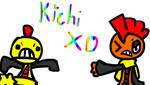 Kichi XD by Genesis-the-vaporeon