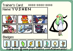 Yushen's trainer card XD by Genesis-the-vaporeon