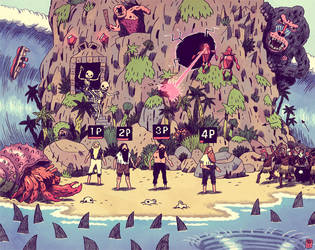 disaster island II by MikkelSommer