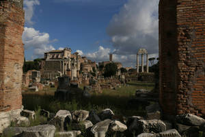 Roman Forum Late Afternoon by RichardEly
