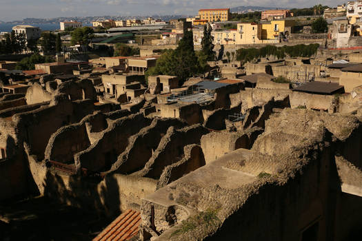 View over Herculaneum