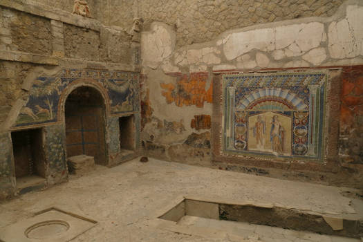 Herculaneum House #22 Interior