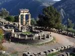 Delphi, Tholos at The Sanctuary of Athena