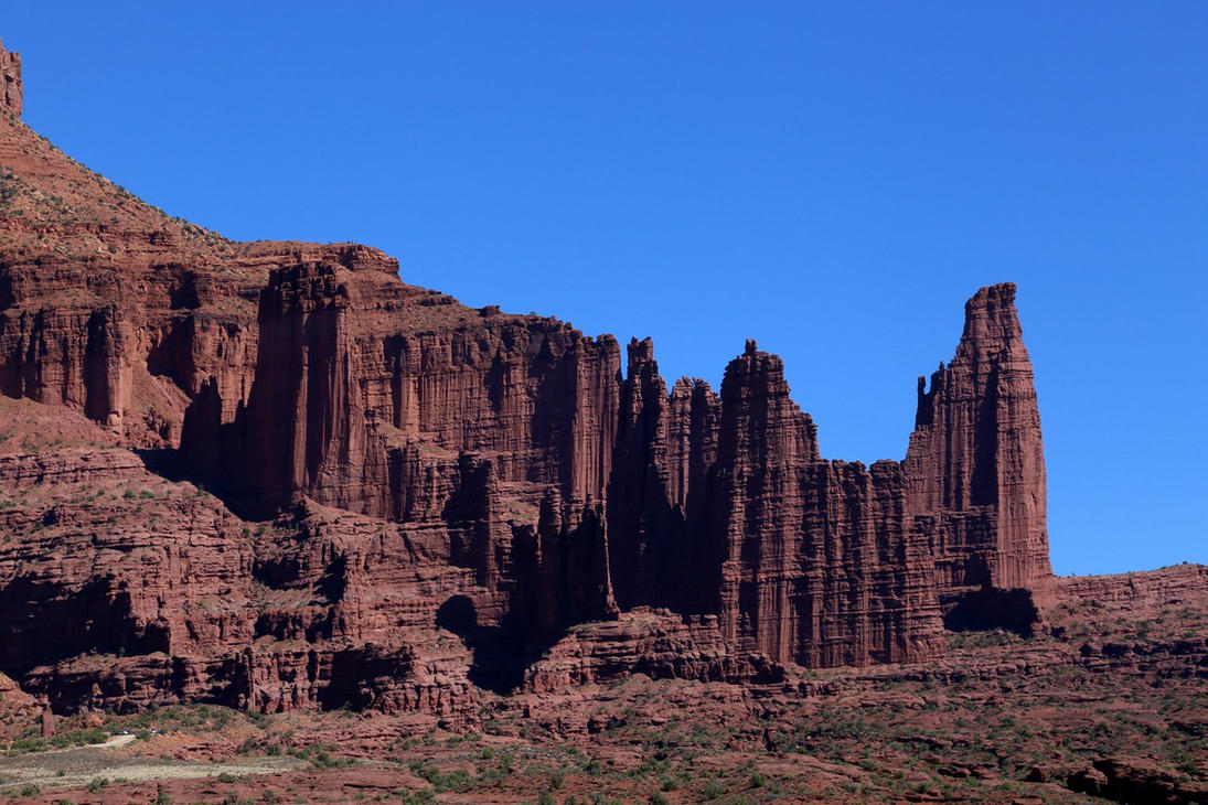 Fisher Towers 3, Moab, Utah by RichardEly