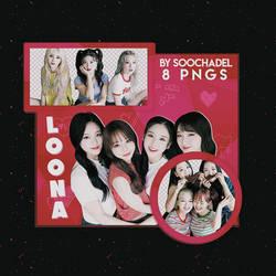 LOONA Png Pack - 1# by SoChadel