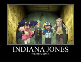 Indiana Jones in Pokemon by beegee12