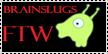 Brainslugs stamp by Wolf-Goddess13