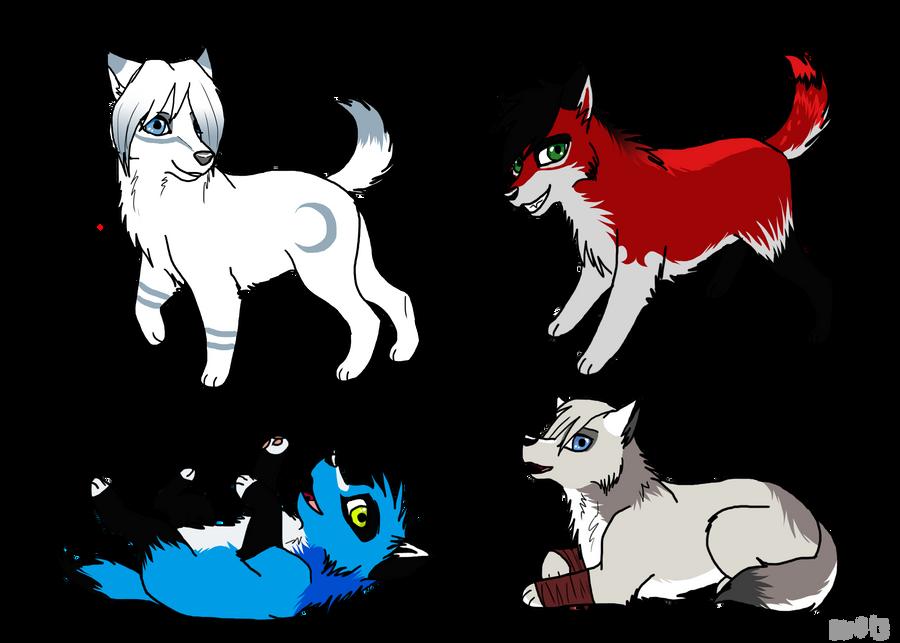 Chibi gifts by Wolf-Goddess13