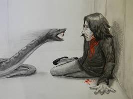 R.I.P. Severus by ChevreLune