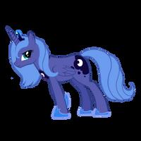 Distressed Luna by ChevreLune