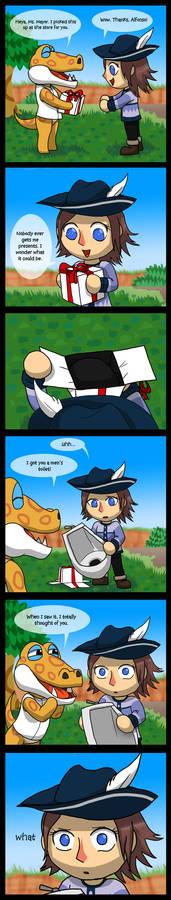 Animal Crossing New Leaf - A Gift