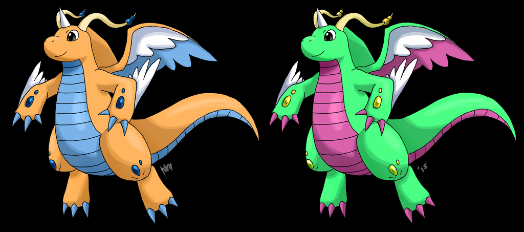 Mega Dragonite concept by Wolf-Goddess13