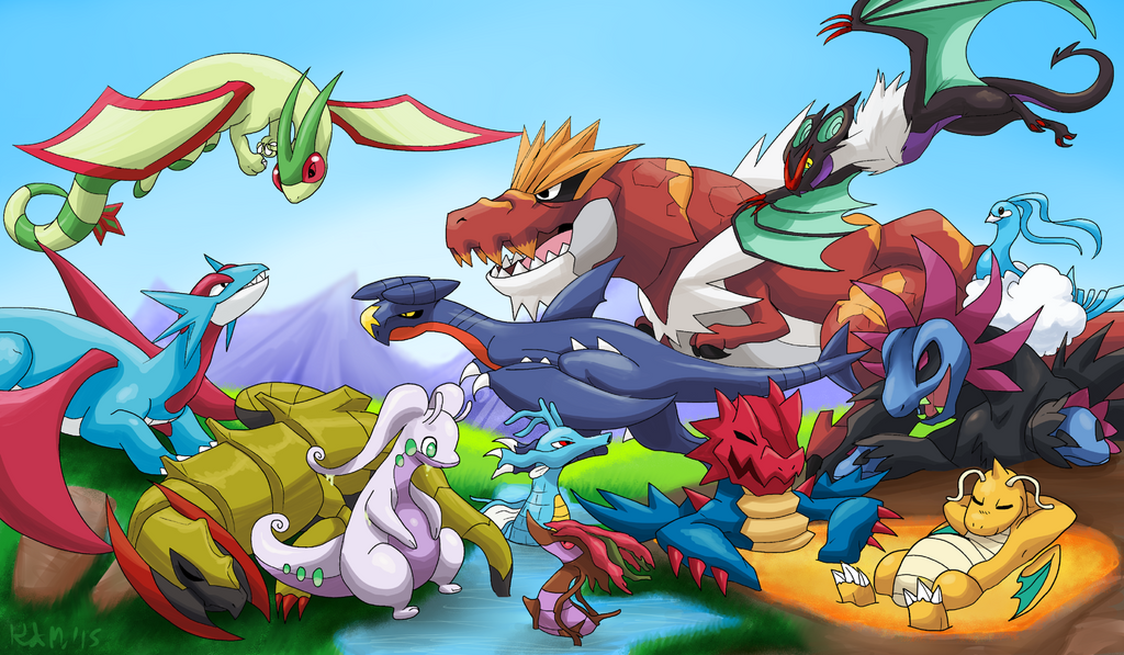 Dragons Unite by Wolf-Goddess13