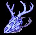 [F2U] Blueberry deer skull- left by JustSkygge