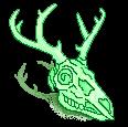 [F2] Mint deer skull- right by JustSkygge