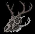 [F2U] Smoky deer skull- left by JustSkygge