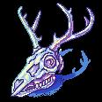 [F2U] Lustrous deer skull- left by JustSkygge