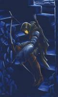 Archer in the night