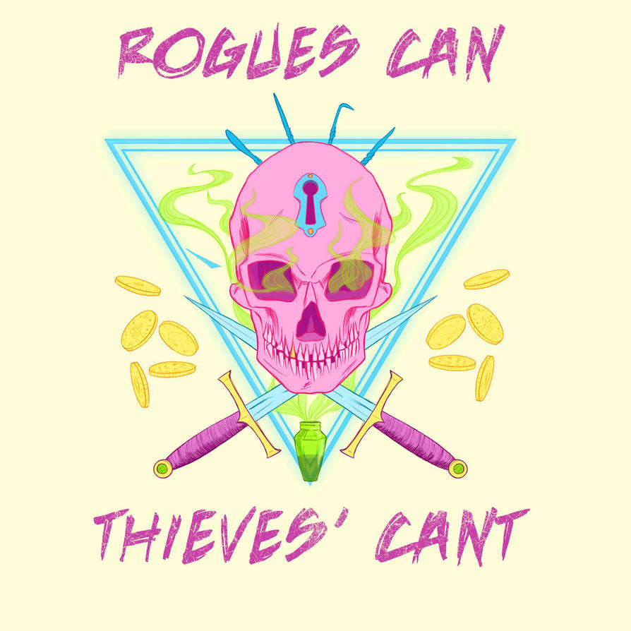 Thieves' Cant - Color by StirvinoLady