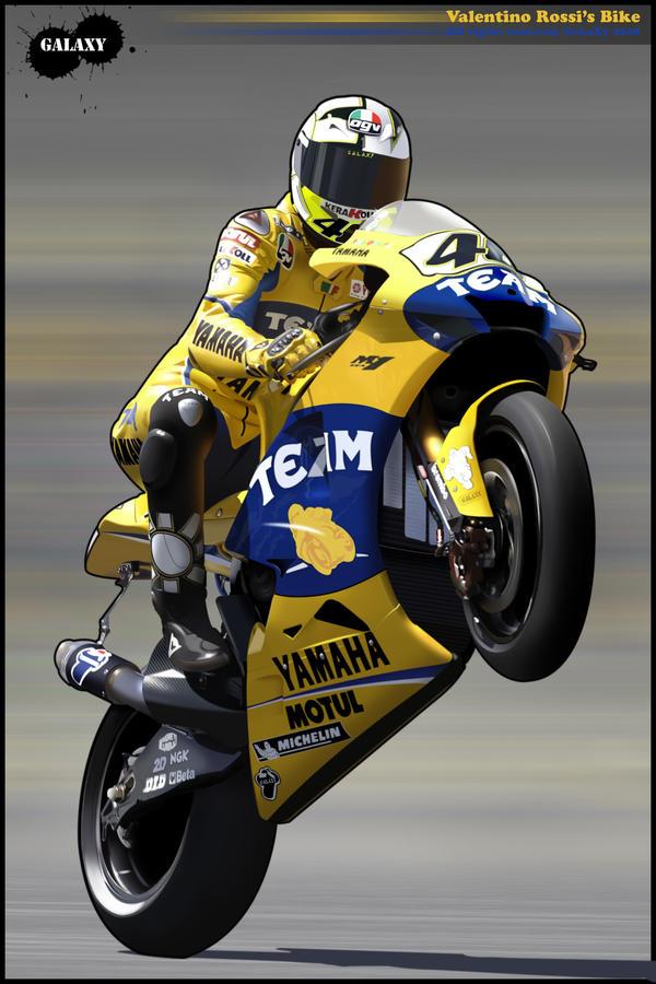 Valentino Rossi's bike t00n by BGGaLaXy