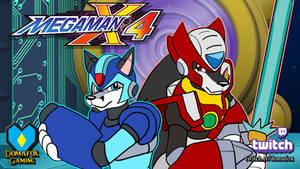 GAME STREAM - Mega Man X4