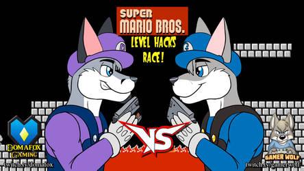 GAME STREAM - Mario Bros Race with Gamerwolf