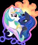 Tia and Luna