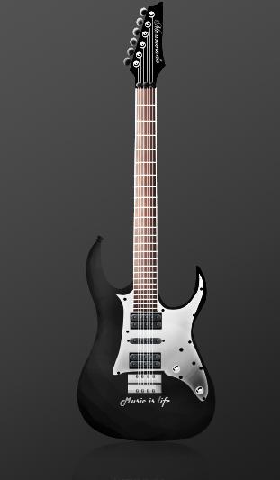 Guitar Vector by maumorado