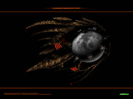Magog Satelite-Ship 2 by Animaniacarts