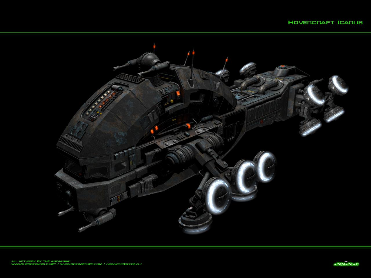 Matrix Hovercraft Icarus by Animaniacarts on DeviantArt