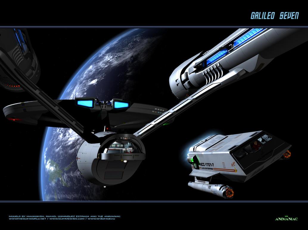 Galileo Seven by Animaniacarts