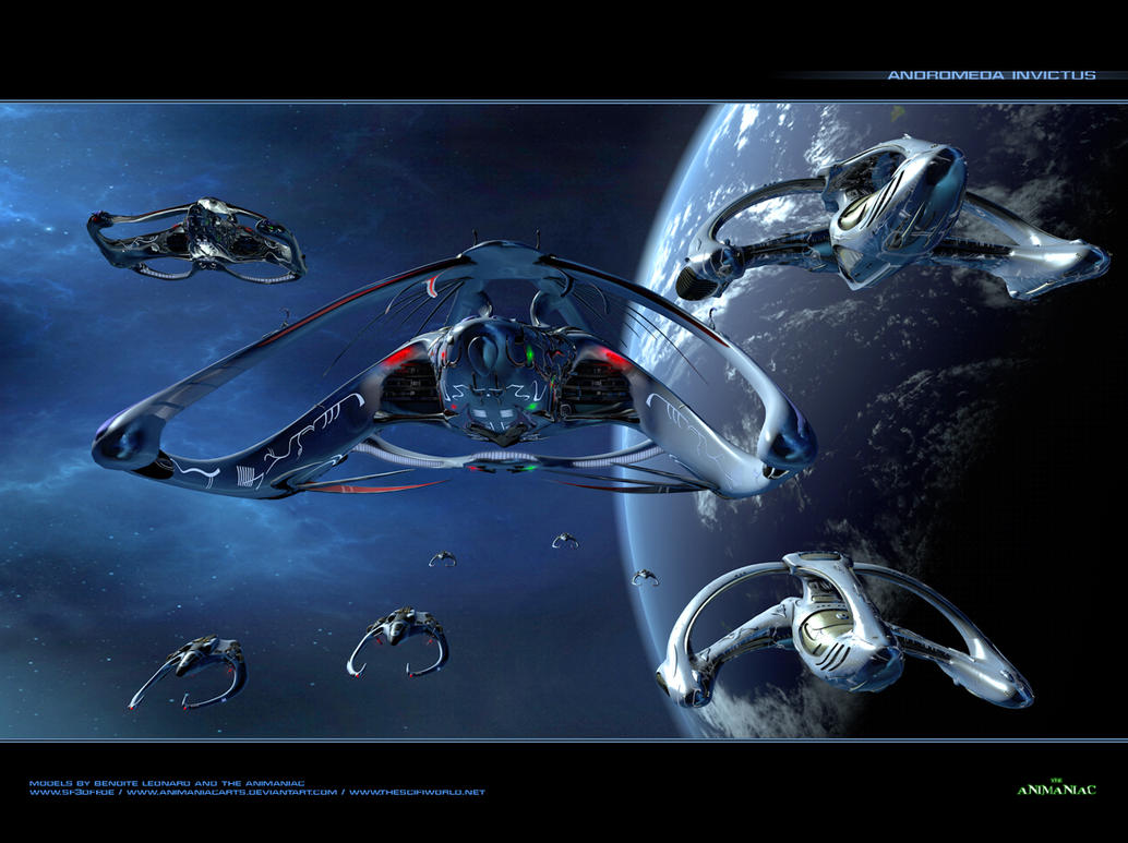 Andromeda Invictus Final by Animaniacarts