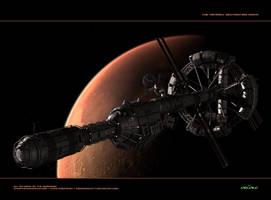 Nasa Hermes: Destination Mars by Animaniacarts