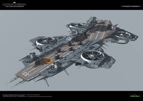 Insight Helicarrier Vue C4D 2 by Animaniacarts