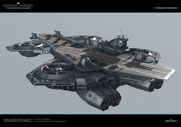 Insight Helicarrier by Animaniacarts