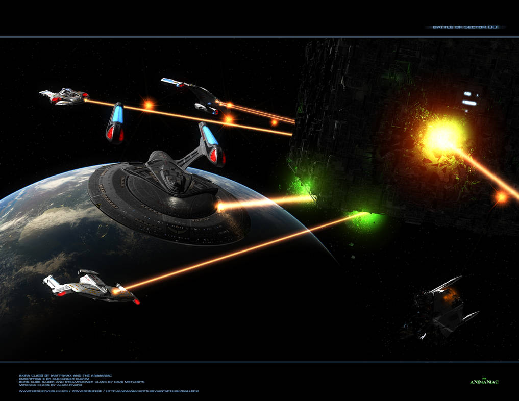 Battle of Sector 001 B C4D by Animaniacarts