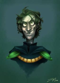 Maskless Plague Knight