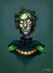 Maskless Plague Knight by Boomsheika
