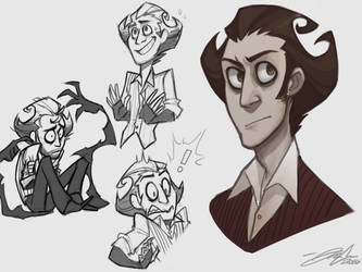 Wilson Doodles by Boomsheika