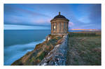 Mussenden Temple at night