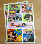 Some PPG stickers I found on the internet by Aldrine2004