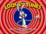 Happy 80th anniversary to Bugs Bunny!