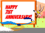 Happy 71st anniversary to Wile E. and Road Runner! by Aldrine2004